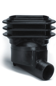 Stormwater/Waste Water Plastic Manhole Road Gully Trap